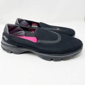 Skechers Relaxed Fit Shoes Black Gogamat Go Walk3
